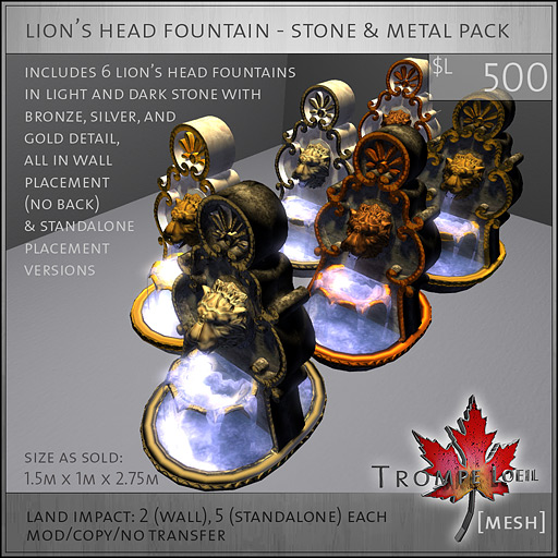 lions-head-fountain-stone-and-metal-pack-L500