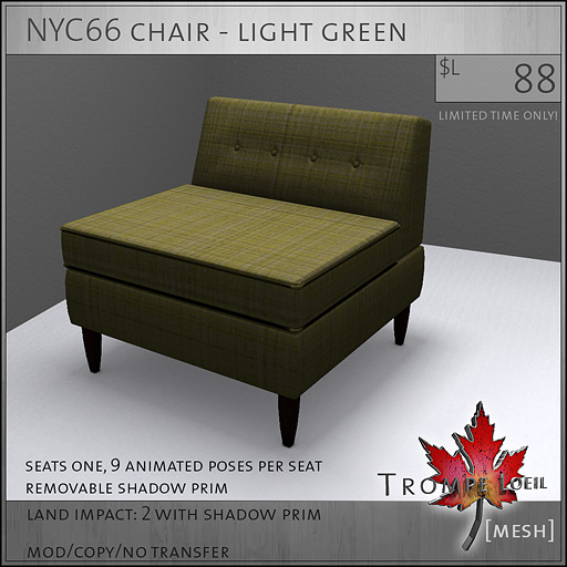NYC66-chair-light-green-L88
