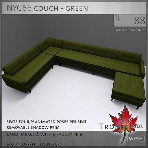 NYC66-couch-green-L88