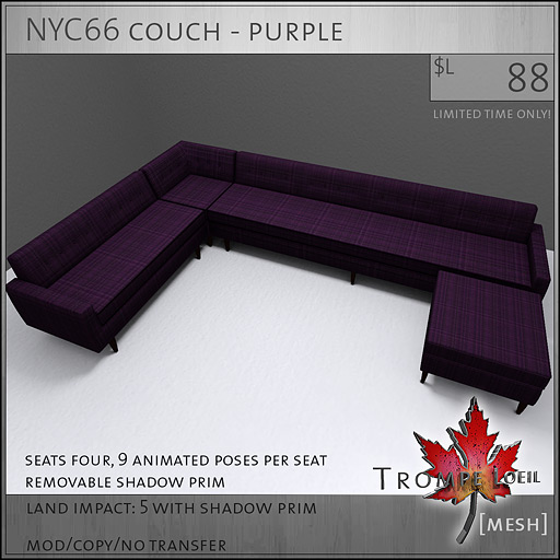 NYC66-couch-purple-L88
