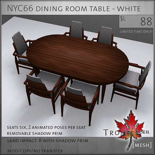 NYC66-dining-room-table-white-L88
