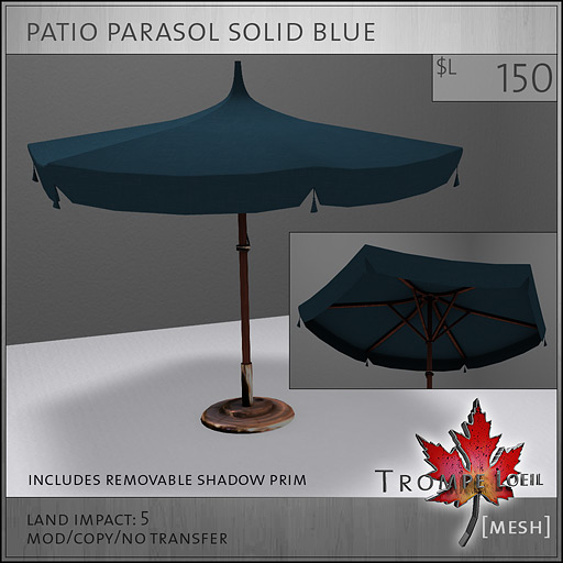 patio-parasol-solid-blue-L150