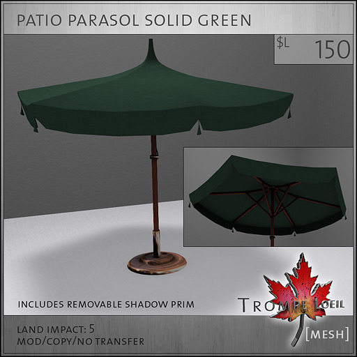 patio-parasol-solid-green-L150