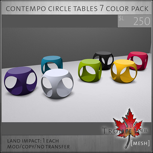 contempo-circle-tables-7-color-pack-L250