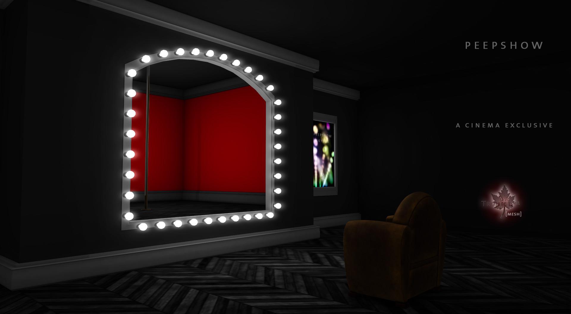 Trompe loeil peepshow skybox promo image 02 trompe loeil - Trompe loeil hoofd bed ...