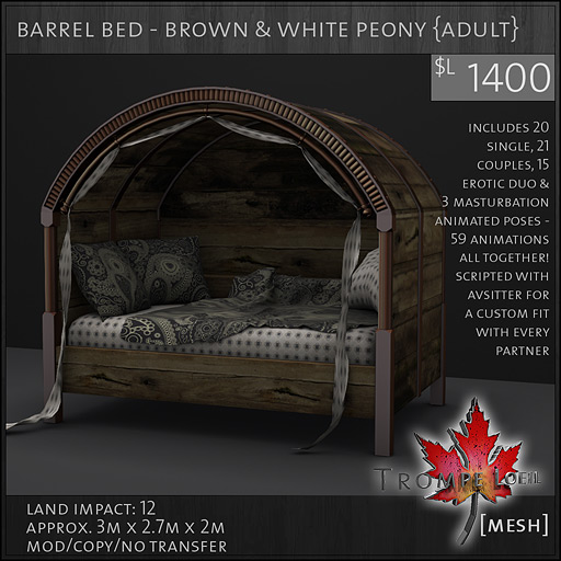 barrel-bed-brown-white-peony-adult-L1400