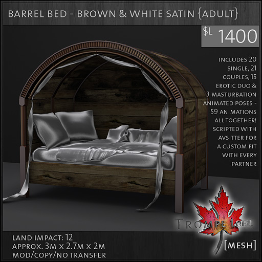 barrel-bed-brown-white-satin-adult-L1400