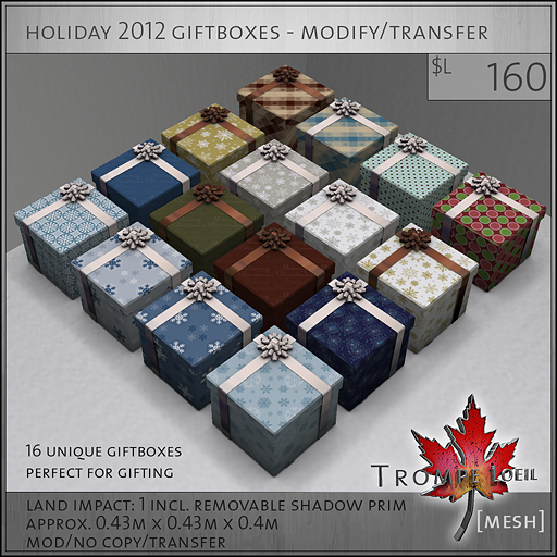 holiday 2012 giftboxes mod transfer L160