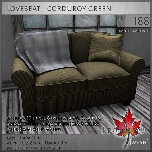 loveseat-corduroy-green-L188