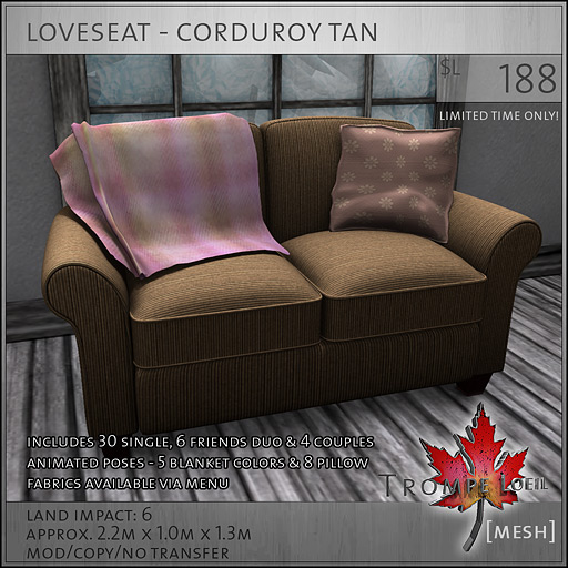 loveseat-corduroy-tan-L188