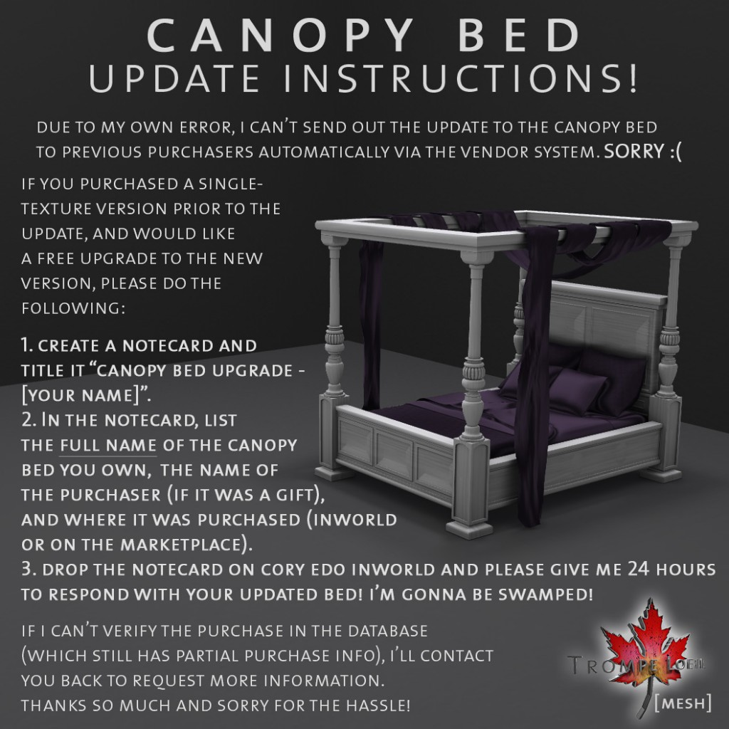 Canopy-Bed-Update-Instructions