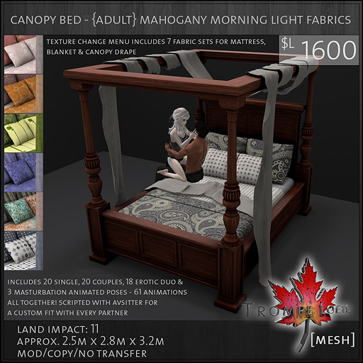 canopy-bed-Adult-mahogany-ML-fabrics-sales-L1600