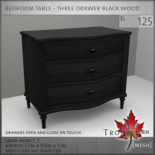 bedroom-table-three-drawer-black-L125