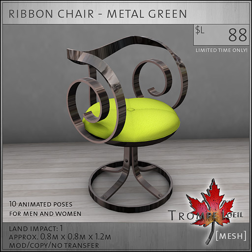 ribbon-chair-metal-green-L88