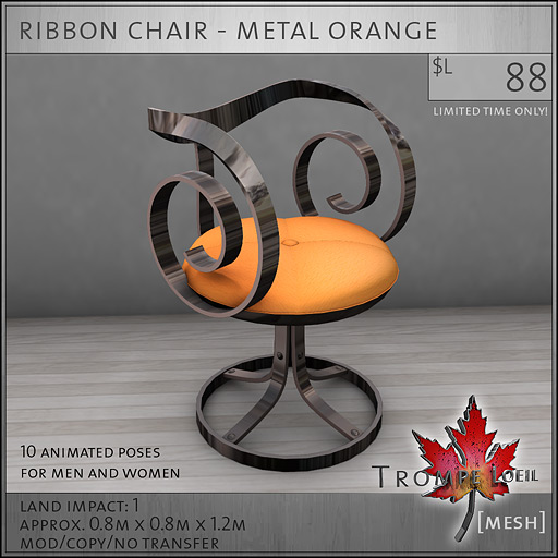 ribbon-chair-metal-orange-L88
