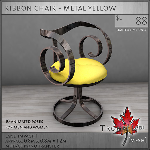 ribbon-chair-metal-yellow-L88