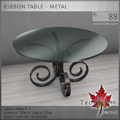 ribbon-table-metal-L88