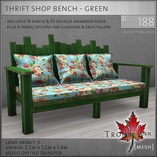 thrift-shop-bench-green-L188