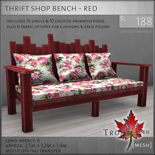 thrift-shop-bench-red-L188