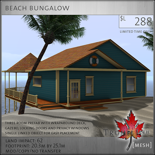 beach bungalow L288