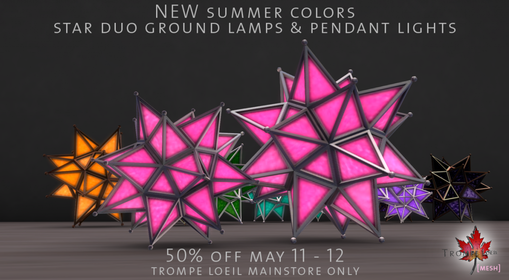 star duo lamps and pendant lights summer colors sale image