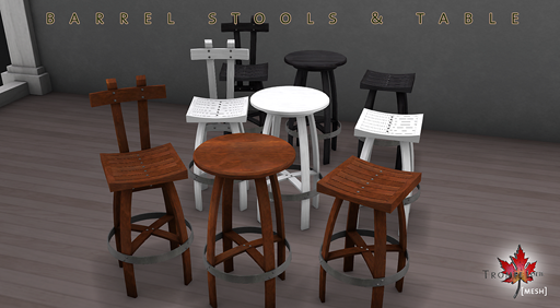 barrel stools and table promo small