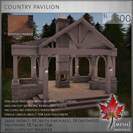 country pavilion L600