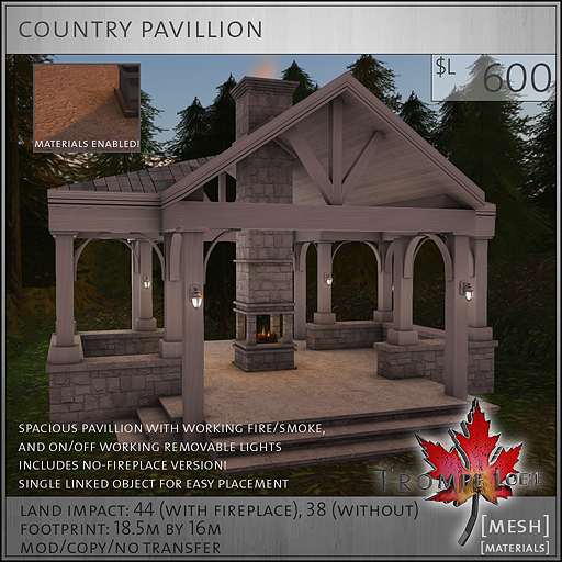 country pavillion L600