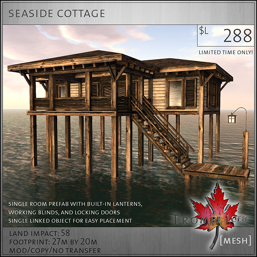 seaside cottage sales L288
