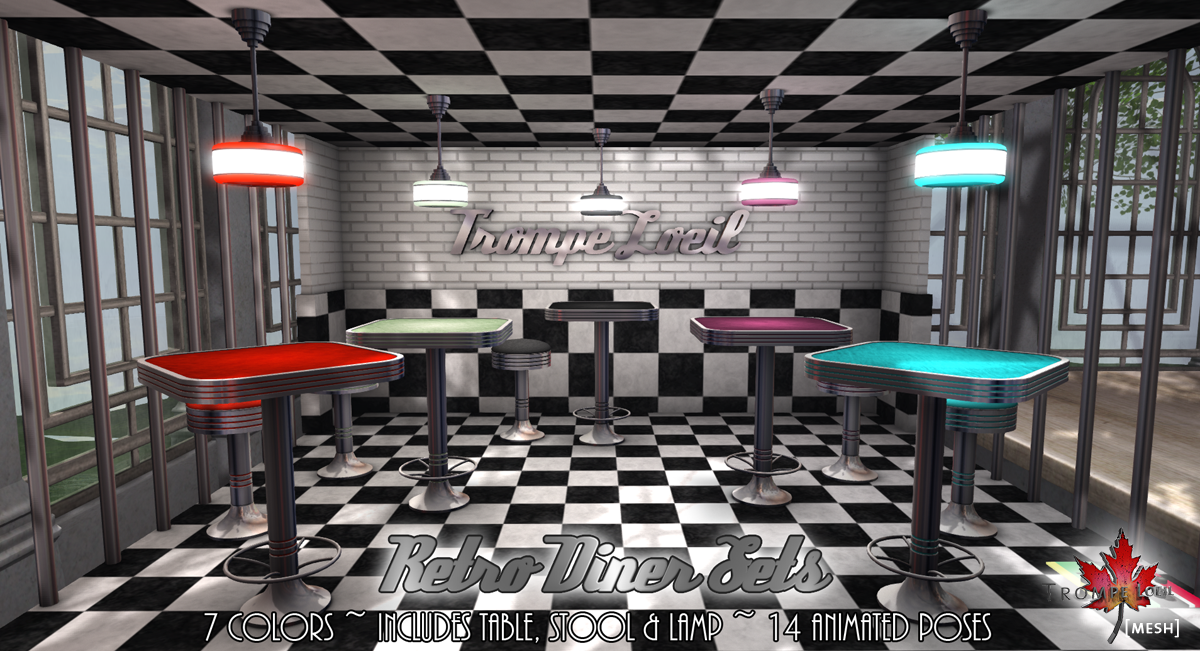 Retro Diner Sets for The Liaison Collaborative The  : Retro Diner Sets promo from trompeloeil.biz size 1200 x 651 png 1043kB
