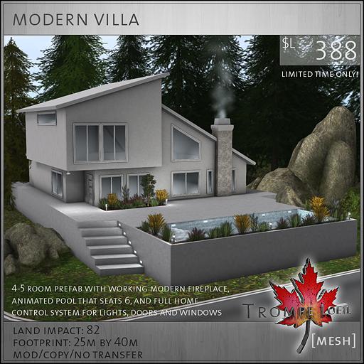 modern villa sales image L388