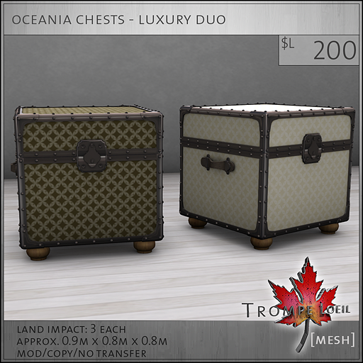 oceania chests luxury L200