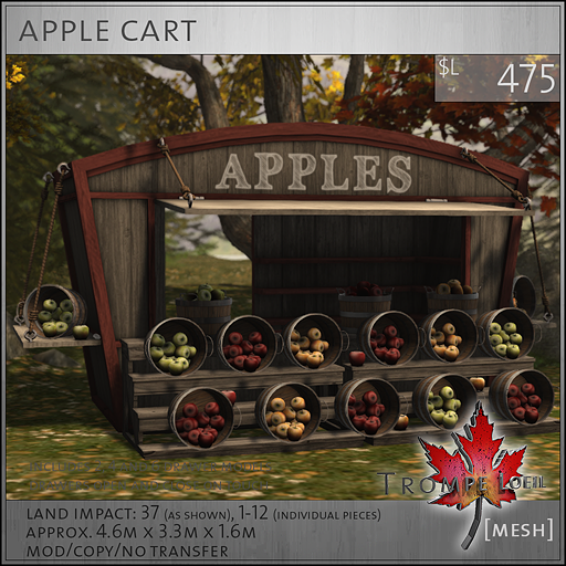 apple cart sales L475