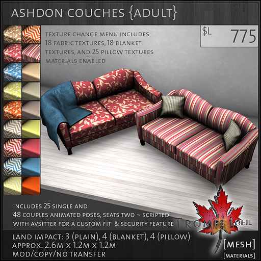 ashdon couches Adult L775