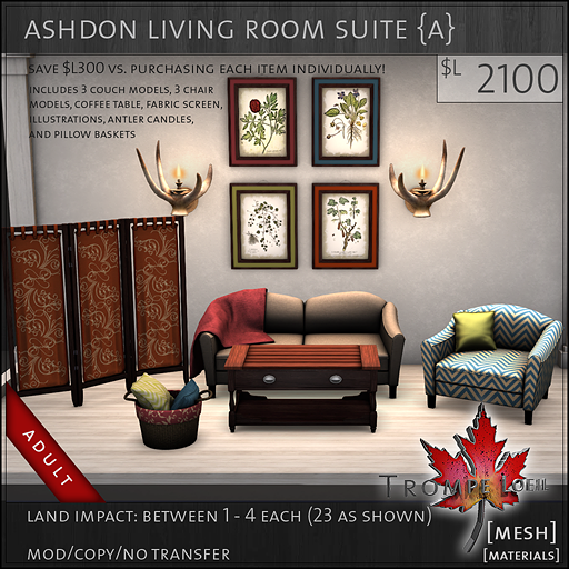 ashdon living room suite Adult L2100