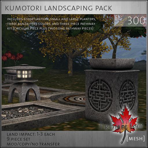 kumotori landscaping pack L300