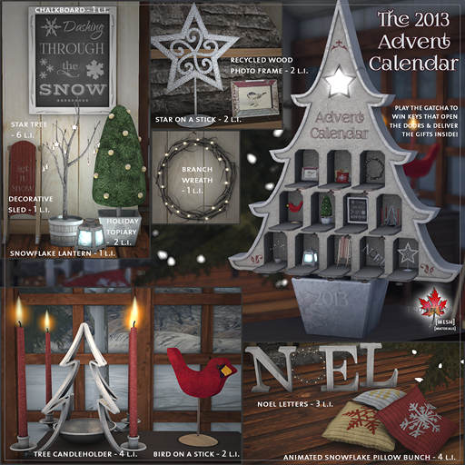 2013 Advent Calendar web