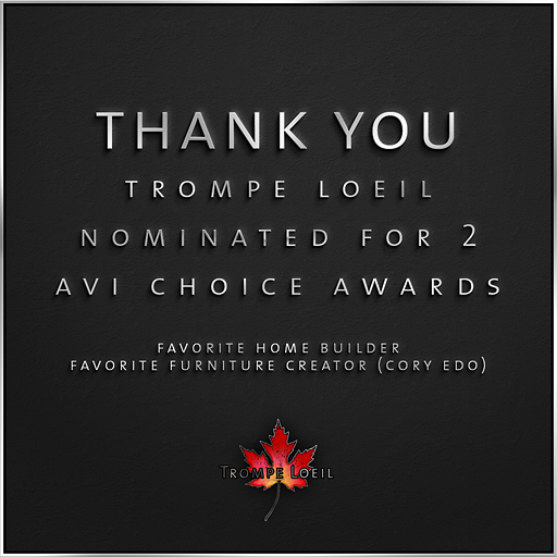 Trompe Loeil Avi Choice nominations