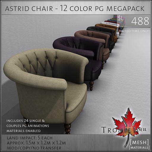astrid chair PG megapack L488