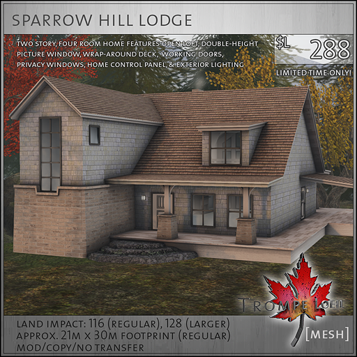 sparrow hill lodge L288