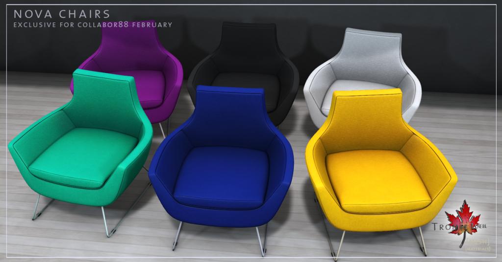 Nova Chairs promo