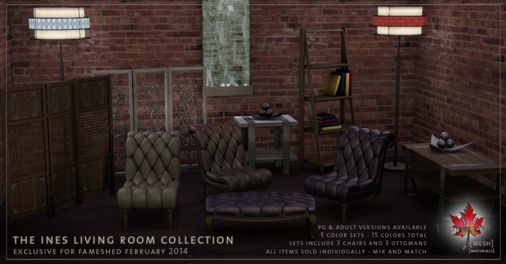 Trompe Loeil - Ines Living Room Collection promo 01
