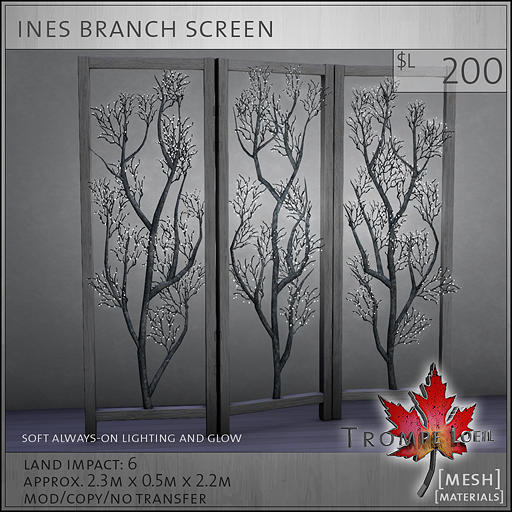 ines branch screen L200