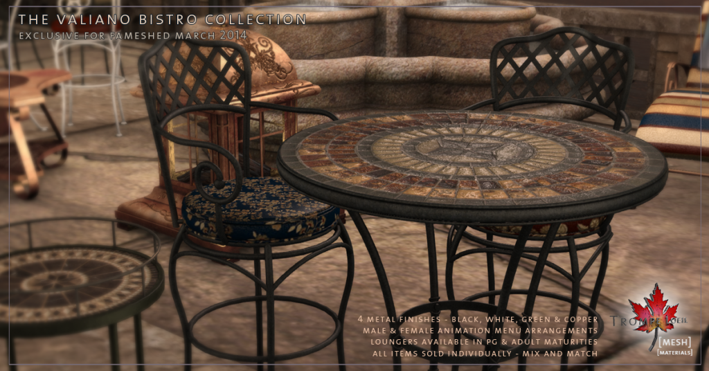 Trompe Loeil - Valiano Bistro Collection promo 01