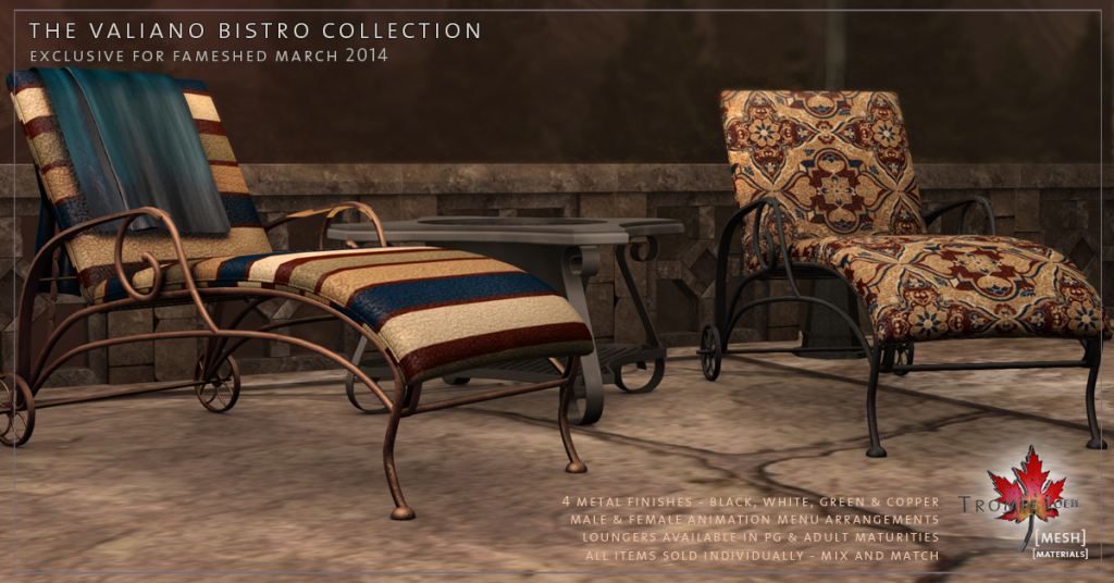 Trompe Loeil - Valiano Bistro Collection promo 02