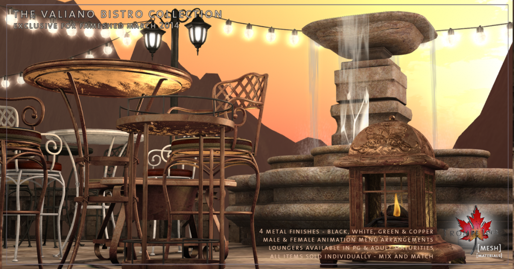 Trompe Loeil - Valiano Bistro Collection promo 03