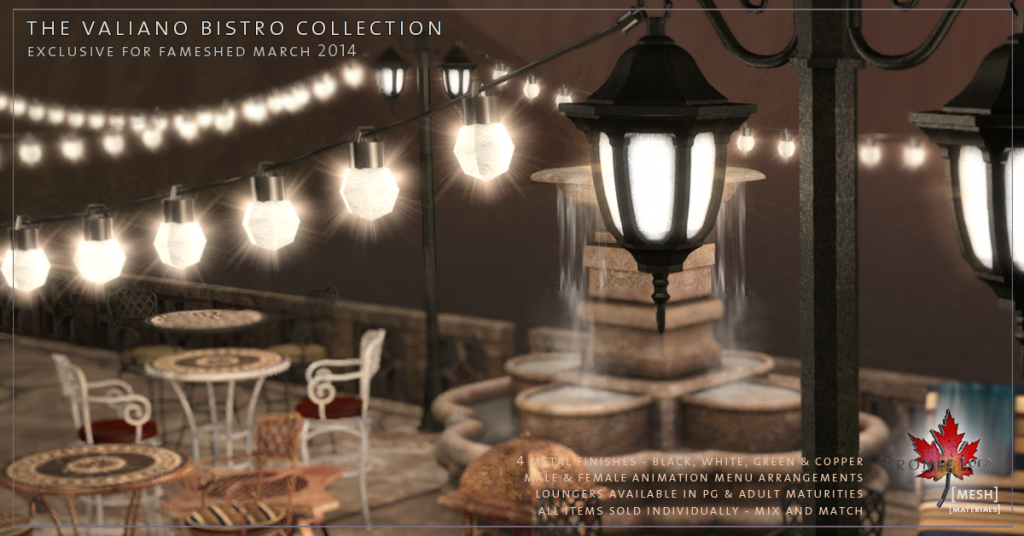 Trompe Loeil - Valiano Bistro Collection promo 04