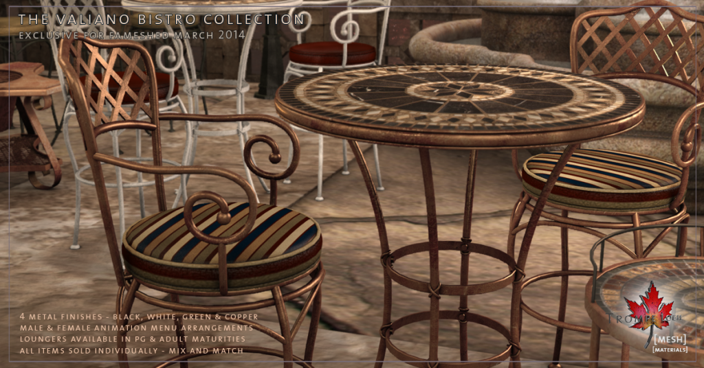 Trompe Loeil - Valiano Bistro Collection promo 05
