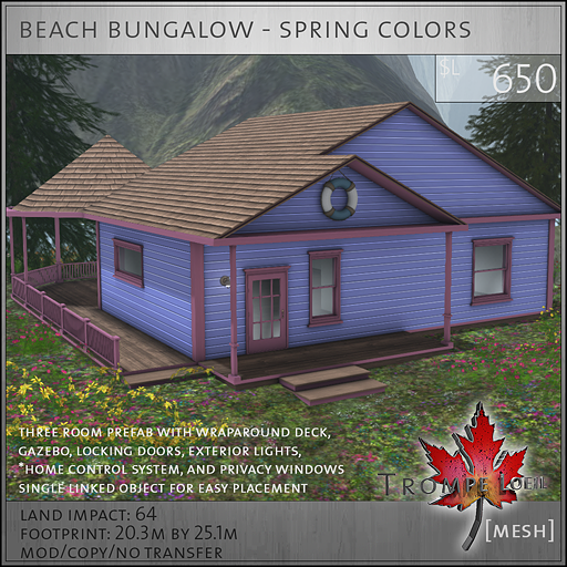beach bungalow spring colors L650