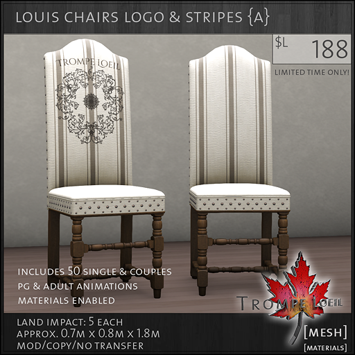 louis chairs logo A L188